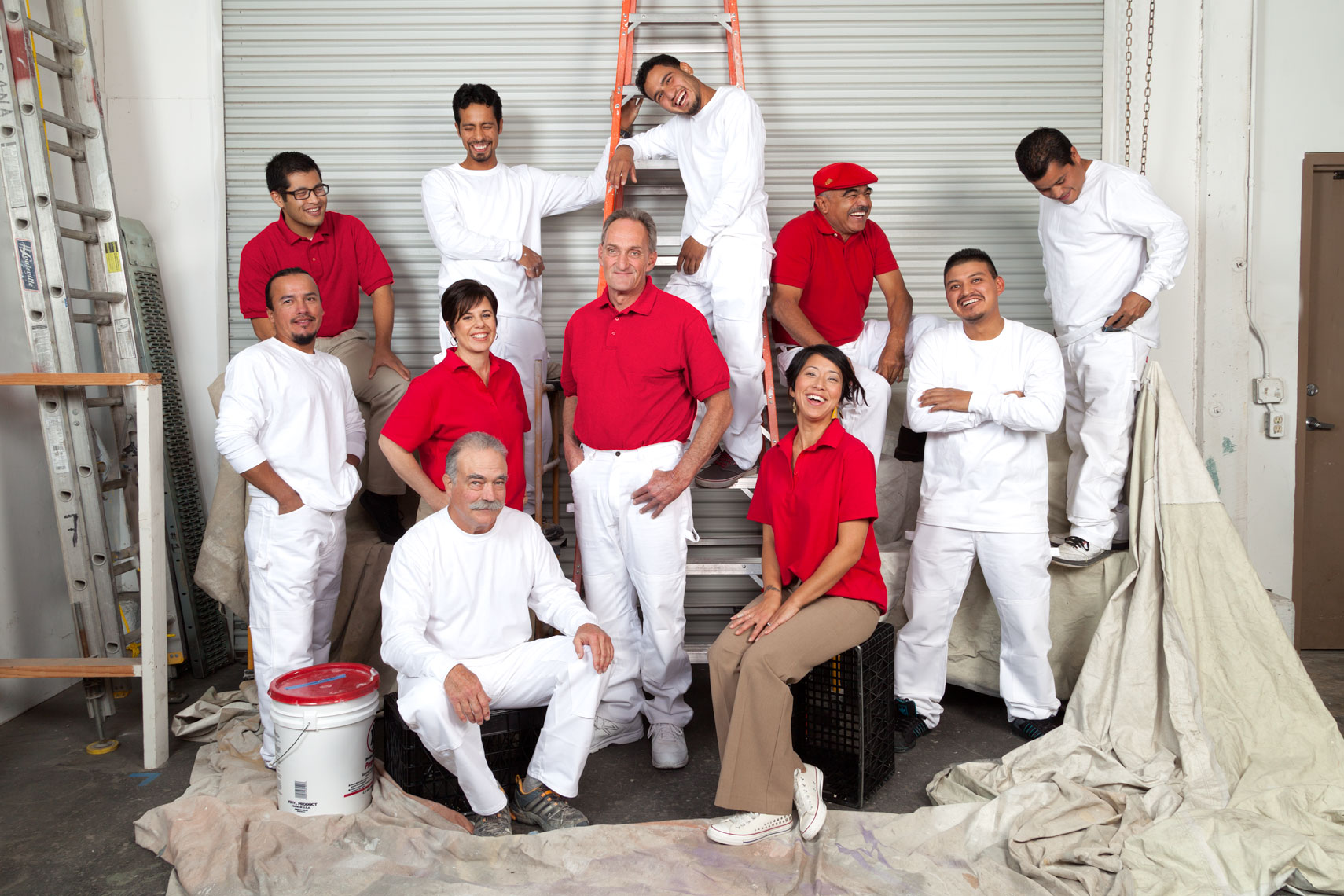 Arana Craftsman Painters Group Photo