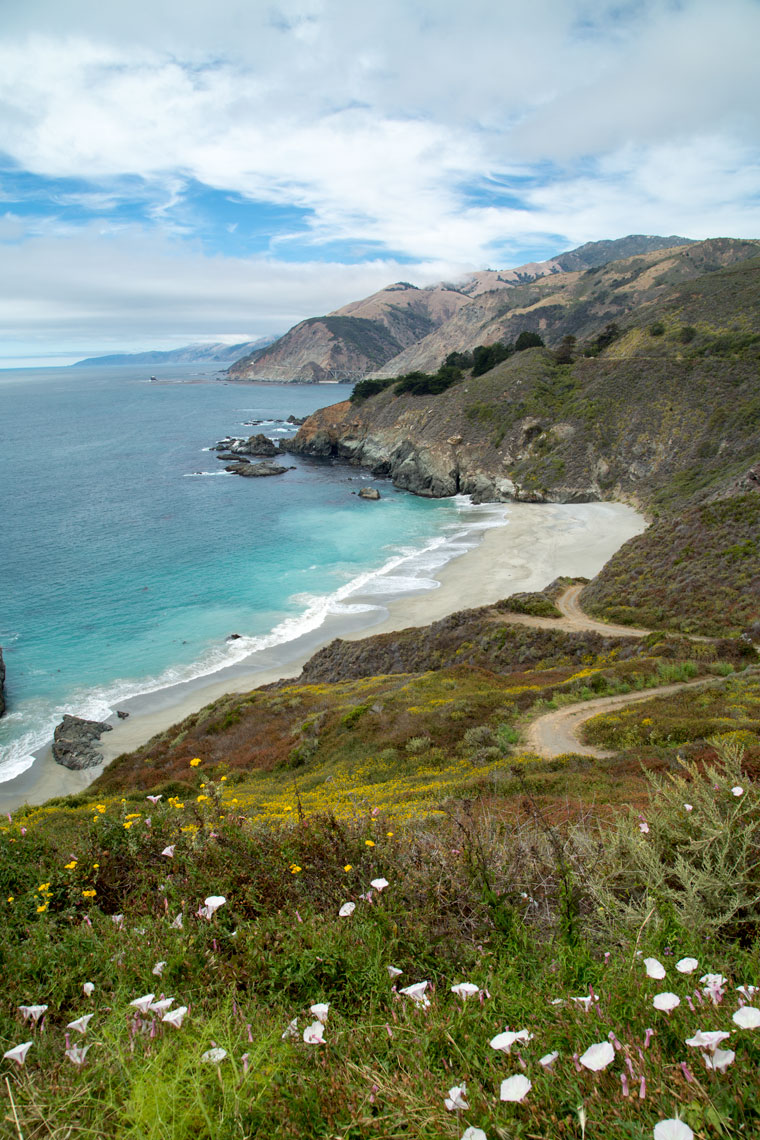 The Big Sur Coast in California.