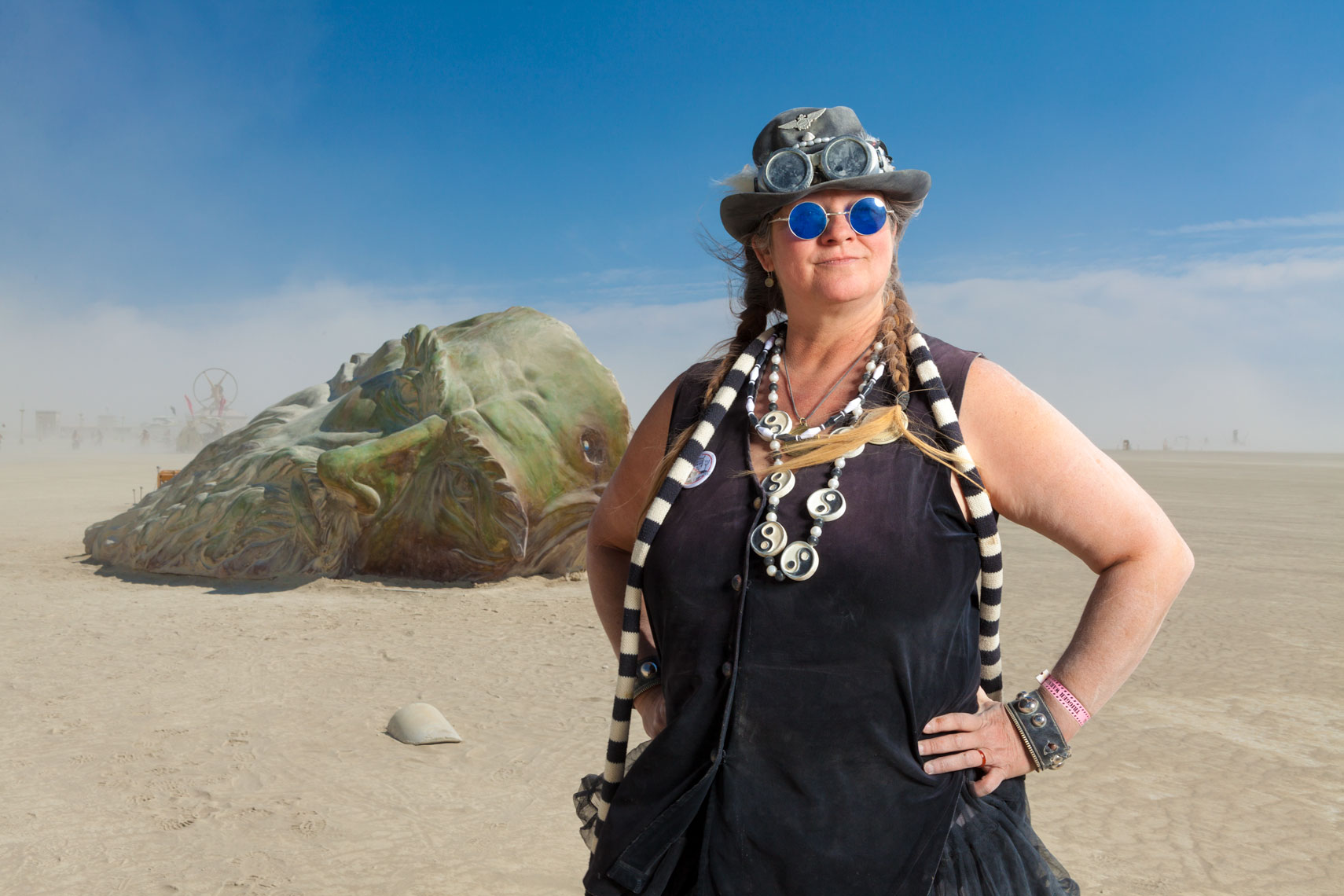 MiscHell Riley - Burning Man 2016