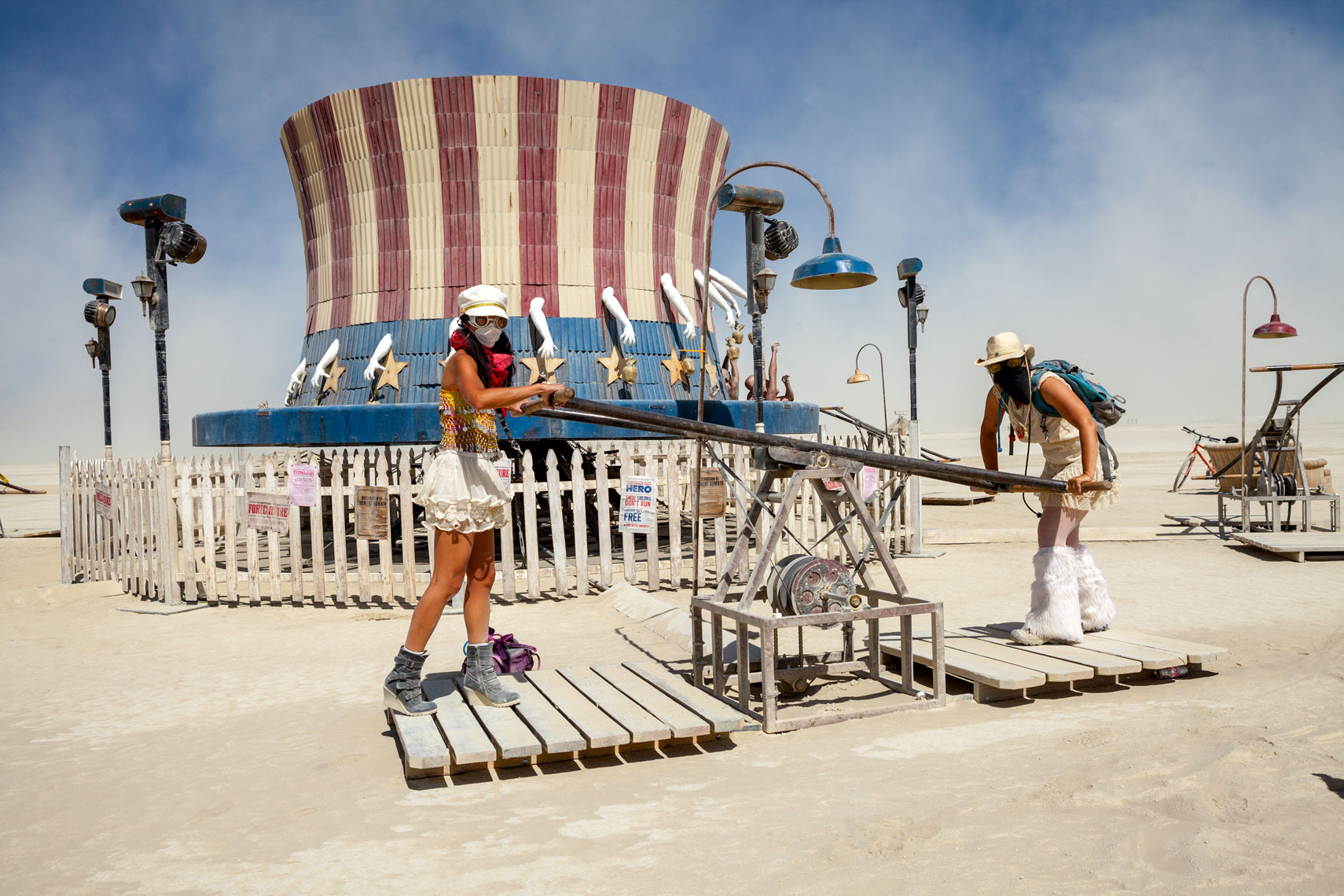 Burning Man Kinetic Art