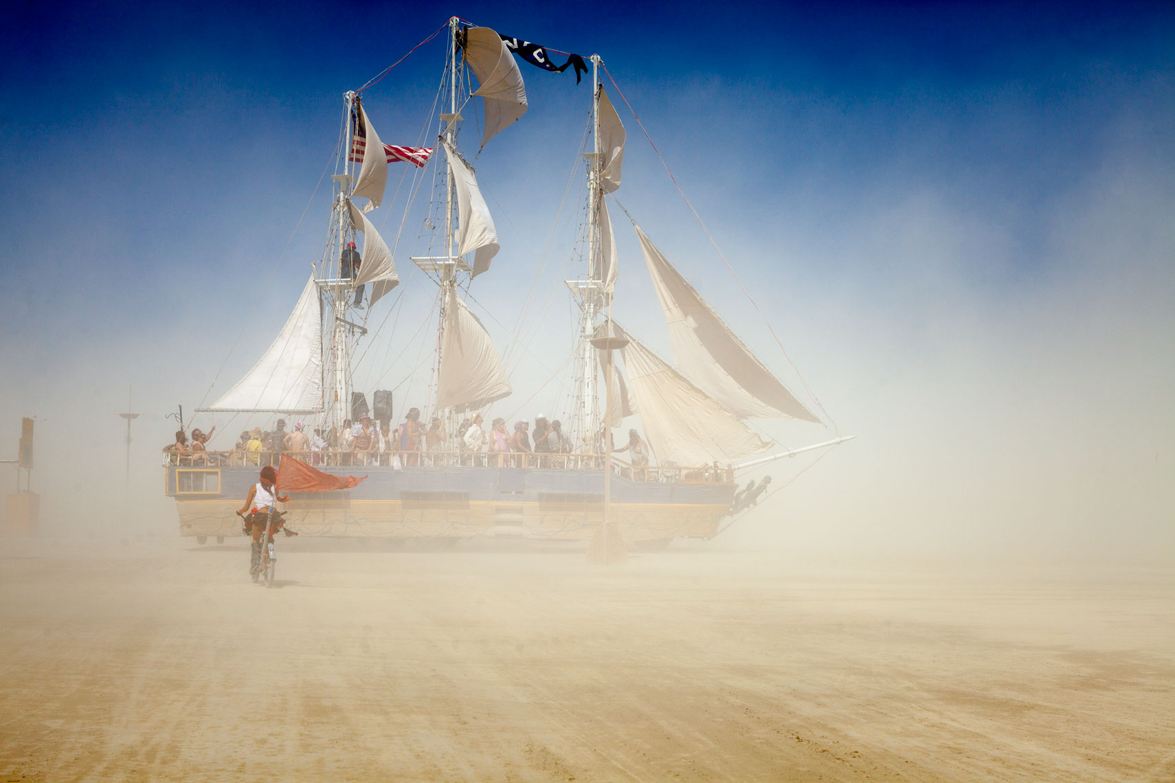 Burning Man Playa Schooner