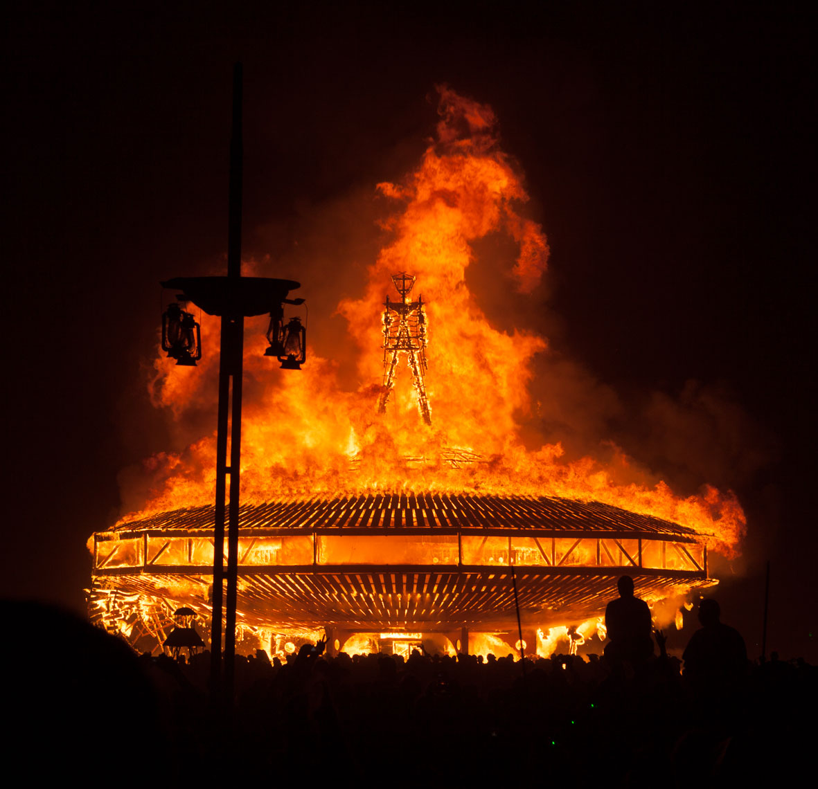 Burning Man Burns