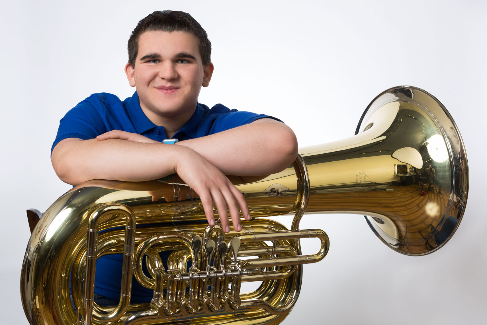 Colin Wilfred and Tuba