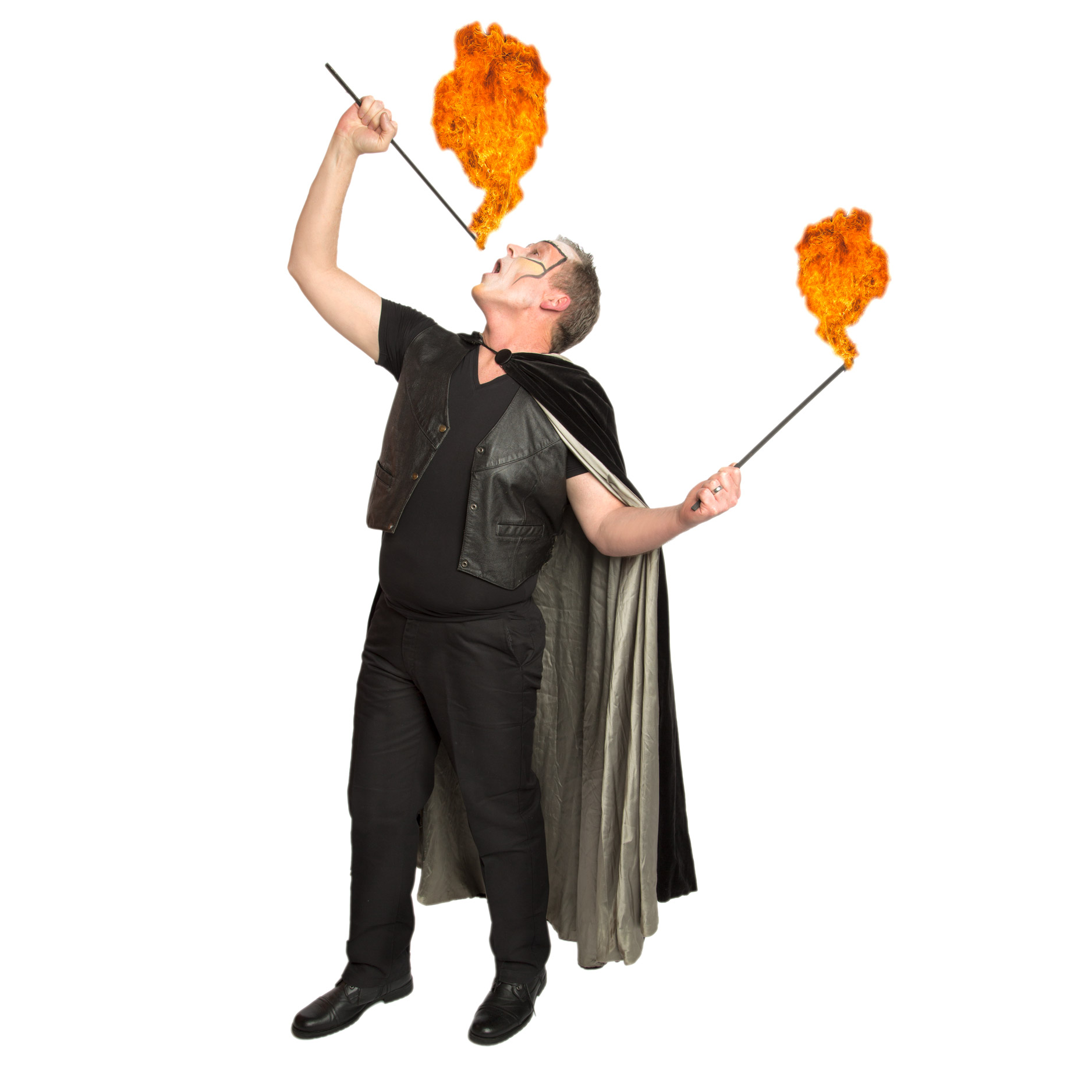 Circus Fire Eater