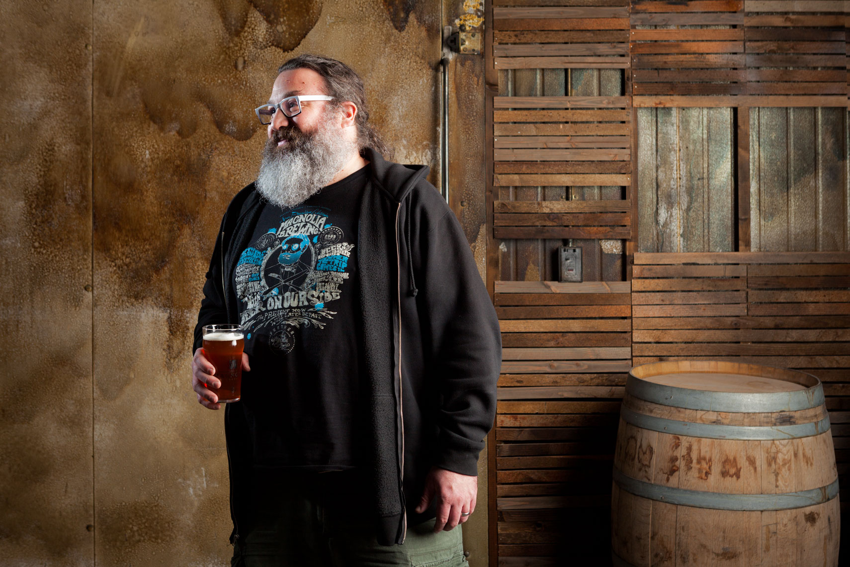 Dave_McLean,  Founder of Magnolia Brewery