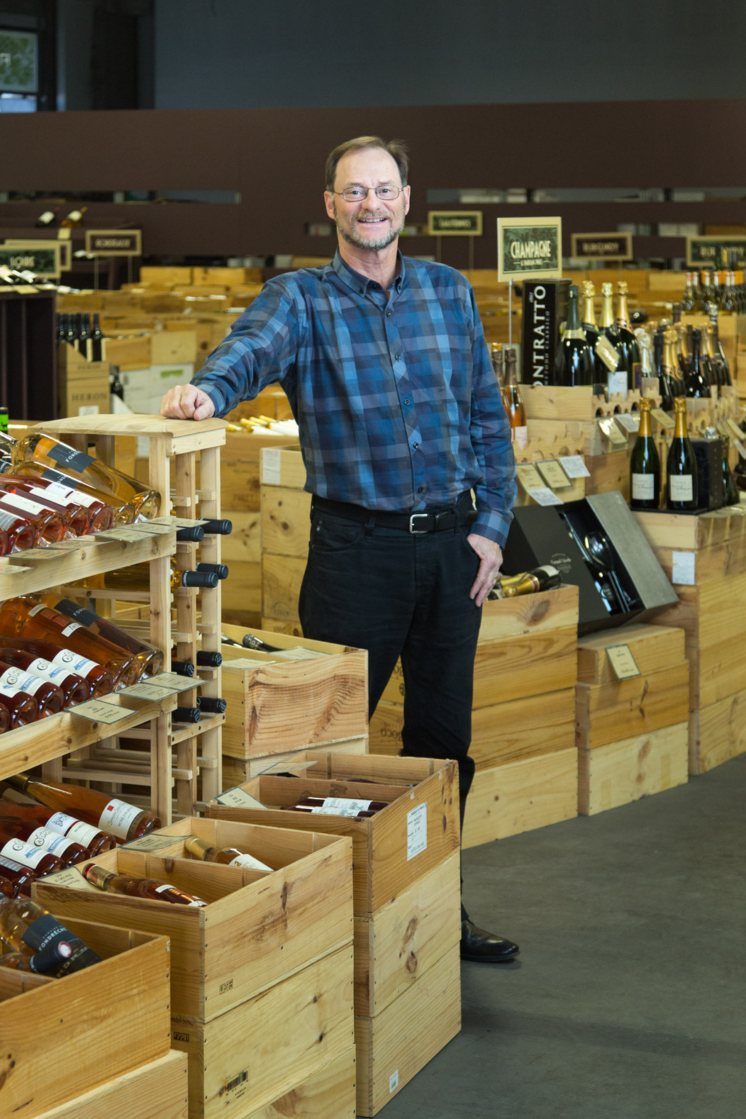 David Netzer of The Wine House