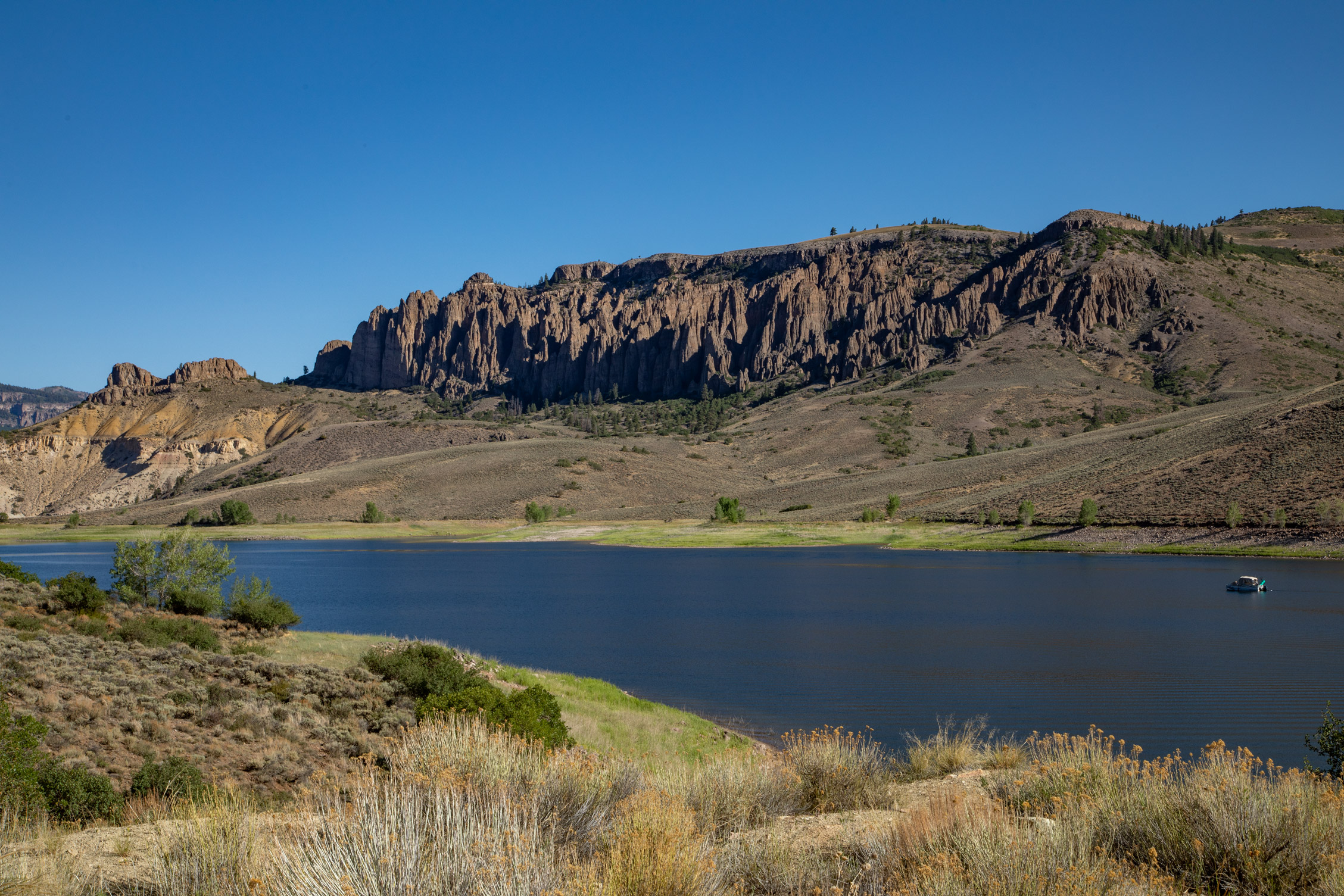 Gunnison river on the way to Black Canton National Park