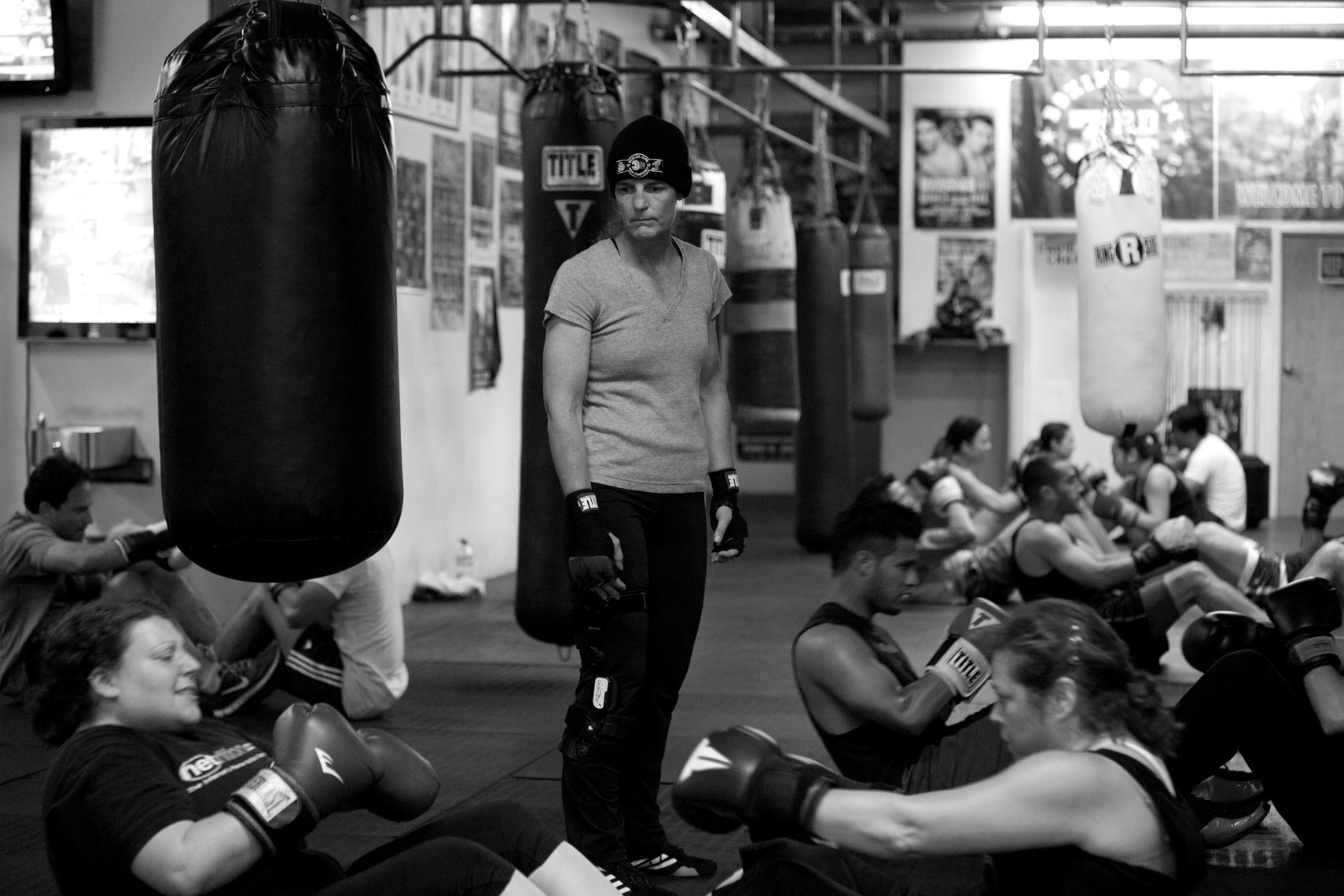 Woman Boxer also Instructs