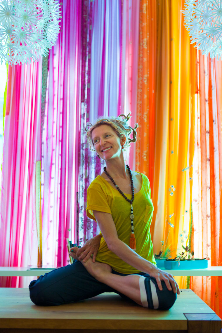 Yoga Studio Owner Mimi Moncier