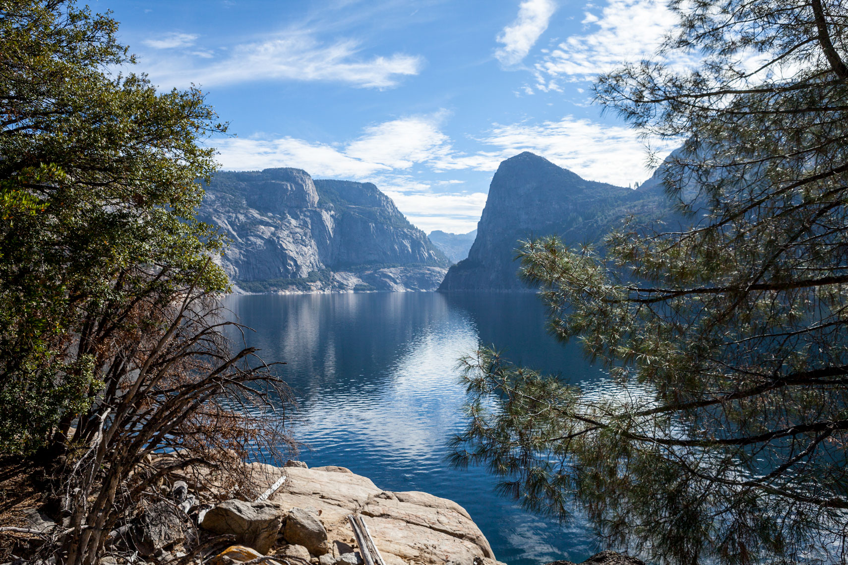 Hetch Hetchy Reservior in Yosemite National Park