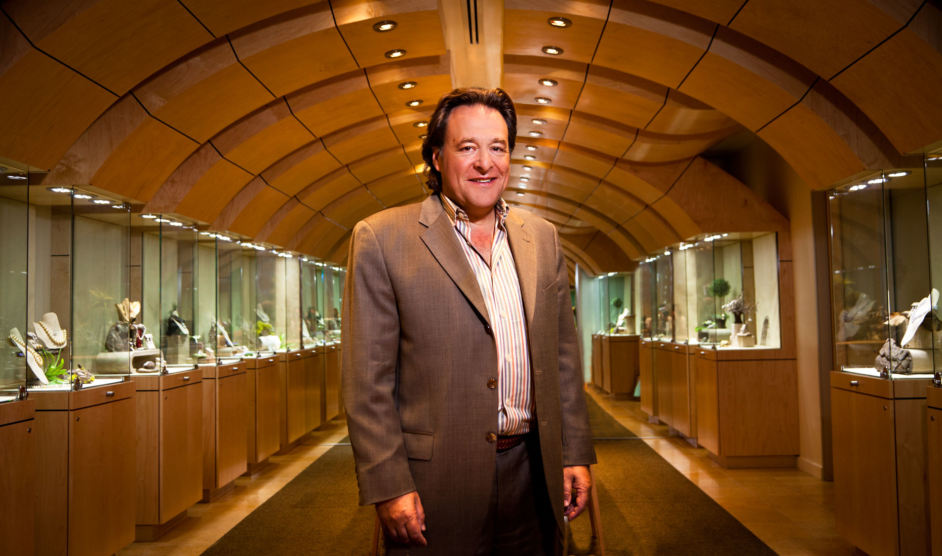Gemologist and Jeweler Stephen Silver