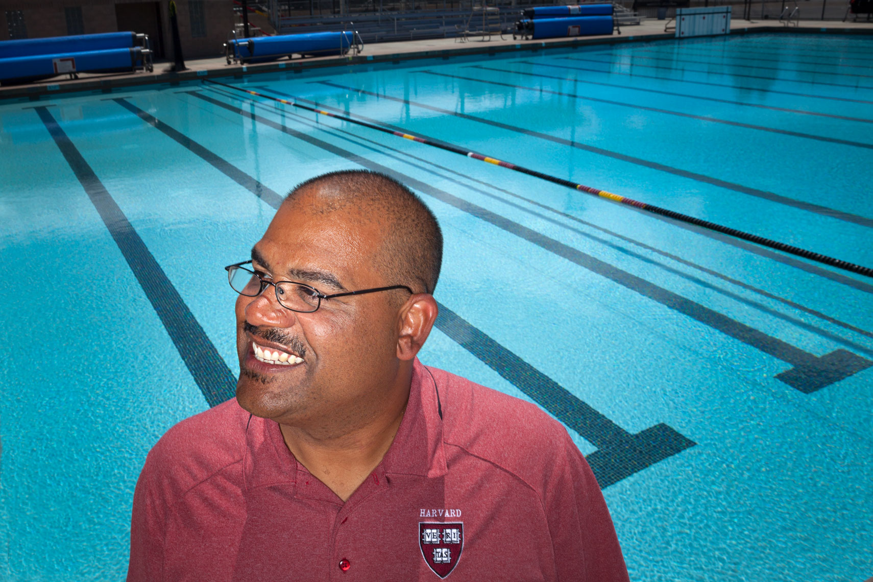 Harvard Water Polo Coach Ted Minnis